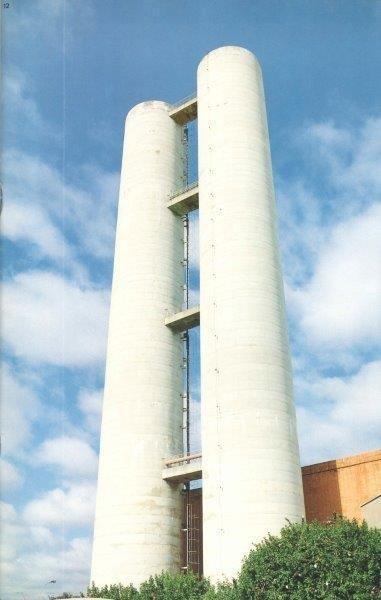 Caixa d'água concreto armado São José do rio preto