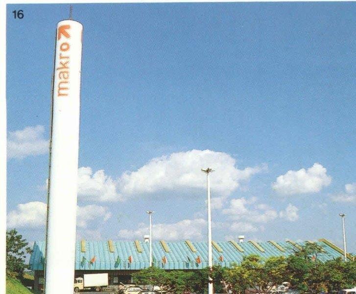 Torre d'água concreto